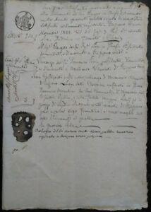 1844-LUNIGIANA-MANOSCRITTO-VENDITA-CASTAGNETO-A-UOMO-DI-MOMMIO-DI-FIVIZZANO