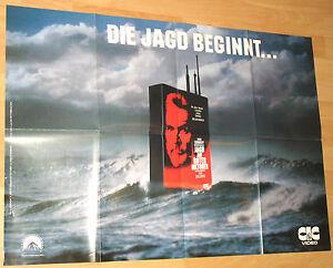 "Jagd auf Roter Oktober ""Die Jagt Beginnt"" Filmplakat / Poster ca 60x84cm"