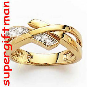 X040-BAGUE-OR-DOUBLE-AM-ring-goud-DIAMANTS-CZ-T53