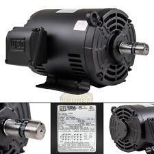 5 Hp 3 Phase Air Compressor Duty Electric Motor 1824t Frame 3510 Rpm 3ph Weg