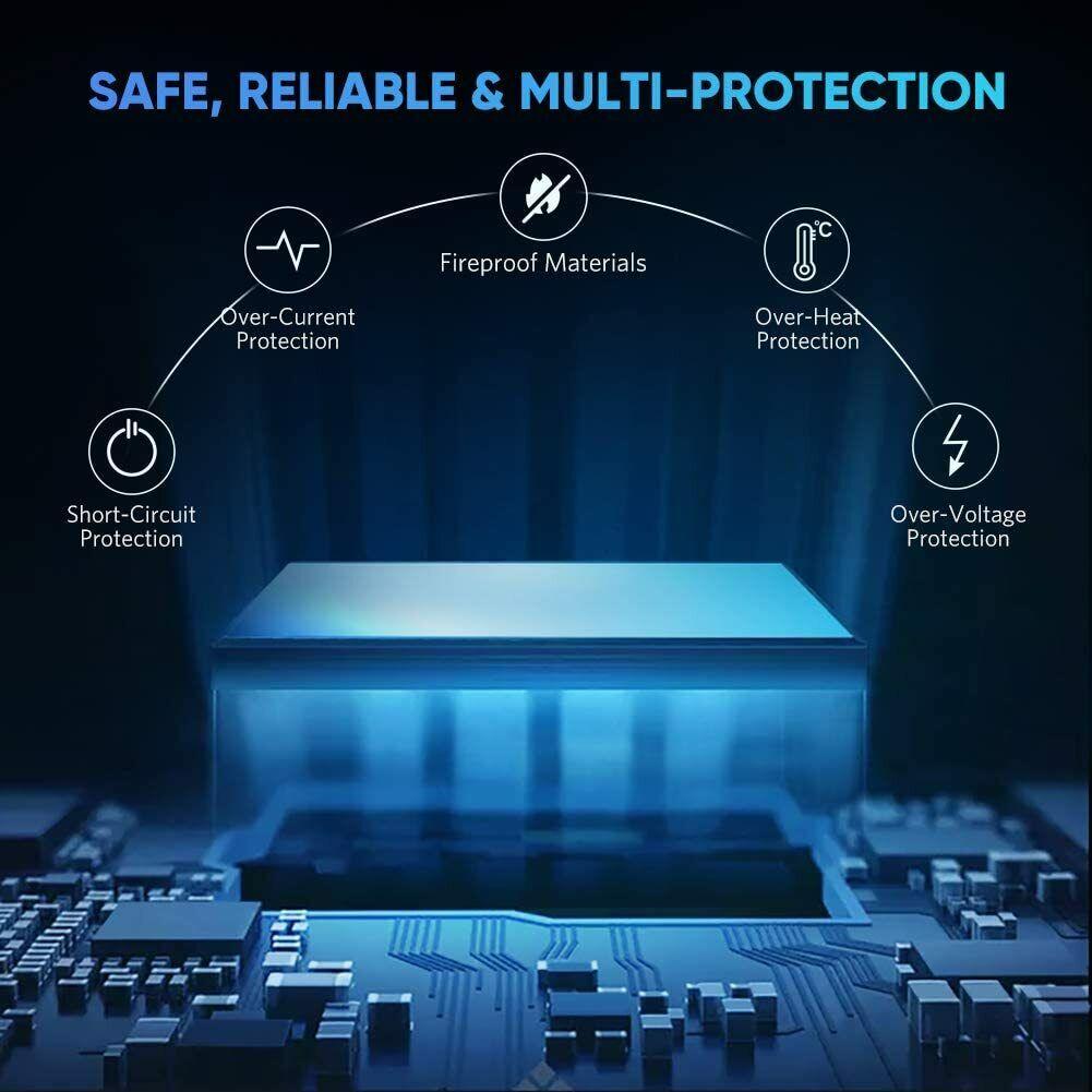 2021 Macbook Pro USB-C Hub Type C to USB Splitter 4 Ports USB 3.0 Data Hub