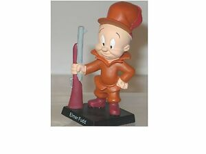 Looney-Tunes-Figurine-Elmer-Hobby-Work-Bugs-Bunny-New-Orig-Packaging-KB