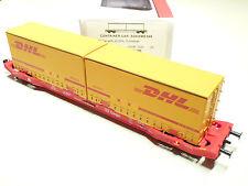 Mehano HO DB/Cargo 4achs. Cotanierwagen SGKKMS 698 DHL rot 58863 NEU OVP
