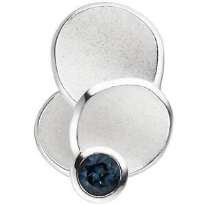 Anhaenger-Halsschmuck-mit-Blautopas-hellblau-blue-925-Silber-teilmattiert-Damen