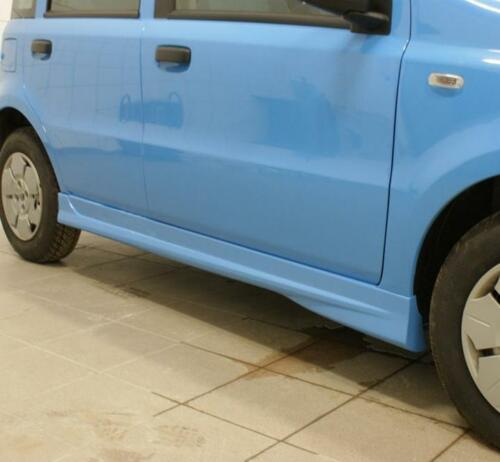 """Side skirts for FIAT PANDA Type 169 03-12 ABS Plastic  /""""Speed Line/"""""""