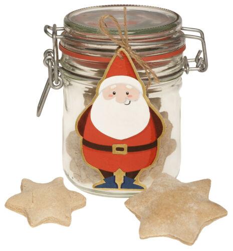 6 Weihnachtsanhänger Wichtel Holz Anhänger Weihnachtsmann Santa Claus Kinder NEU