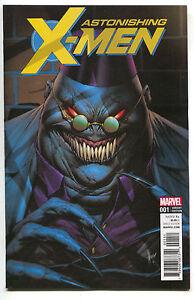 Image Is Loading Astonishing X Men 1 Marvel 2017 NM