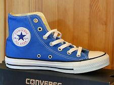 Converse Chucks Taylor All Star Hi UK 4,5 EU 37 light sapphire blau blue 147129C