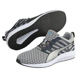 c4acd03a713 Men s Shoe PUMA Flare Mesh Running Sneakers 188625-03 Asphalt Quarry ...