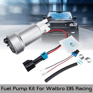 Walbro E85 Racing High Performance 450LPH Fuel Pump /& Install Kit F90000267