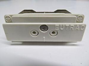 EUTRAC Längsverbinder Verbinder weiß