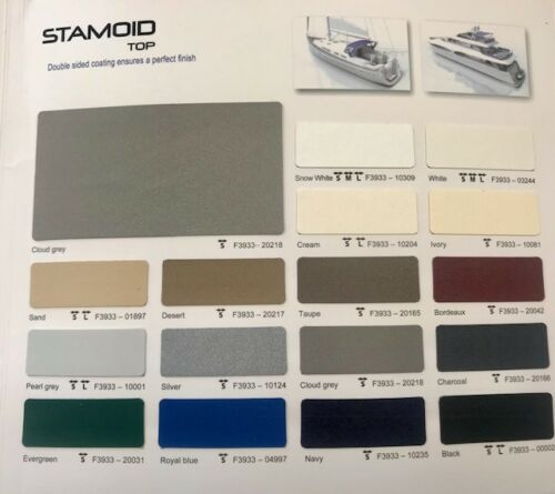 """Ferrari Stamoid light Fabric 102/"""" By the yard  BOAT COVER TOP MARINE QUALITY"""