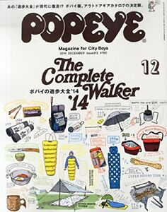 Details about USED Popeye December 2014 Japanese Magazine Complete Walker  `14 Style Fashion