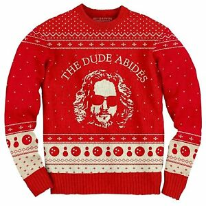 Adult-Crime-Comedy-Movie-The-Big-Lebowski-The-Dude-Abides-Ugly-Christmas-Sweater