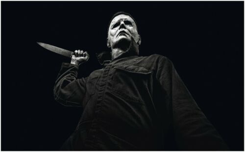 Halloween Michael Myers Movie Large Poster Art Print Giant A0 to A5 Small Size