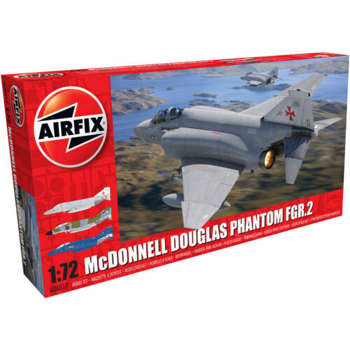 A06017 Airfix McDonnell Douglas Phantom FGR.2 Jet Model Kit Scale 1:72