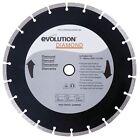 Evolution 12BLADEDM 12 X 1 Diamond Masonry Blade for Disccut1 Saw