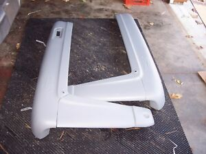 Ford-800-801-821-841-861-Hood-Complete-Assembly-Original-Non-Script-Side-Panels