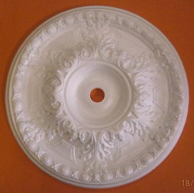 Decorators Bargain - Large Polystyrene Ceiling Rose 500mm//Slightly Shop Soiled
