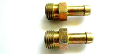 Tuyau mamelons m14 AG Pour Tuyau 7-8 mm Acier jaune galvanisé STECKNIPPEL m14