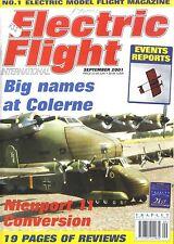 ELECTRIC FLIGHT MAGAZINE 2001 SEP 1923 CIERVA C.4 AUTOGYRO, SUKHOI SU31