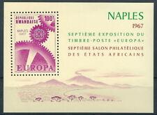 Ruanda - Briefmarkenausstellung Afrikas Block 8 postfrisch 1967 Mi. 216