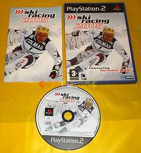 SKI-RACING-2005-Ps2-Versione-Ufficiale-Italiana-1-Edizione-COMPLETO