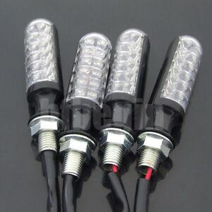 4X-Moto-plastique-Ampoules-Signal-Lampe-Clignotant-Feu-Indicateur-Eclairage-Noir