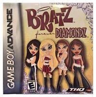 Bratz Forever Diamonds (game Boy Advance) Brand Sealed -free U.s. Ship -nice