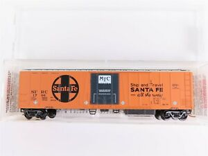 N-Scale-MTL-Micro-Trains-70070-SFRC-Santa-Fe-51-039-3-3-4-034-Mech-Reefer-1796-RTR