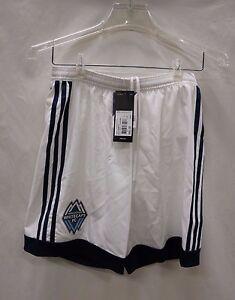 66cee867c Vancouver Whitecaps Men s S White Soccer Shorts adidas Adizero MSRP ...