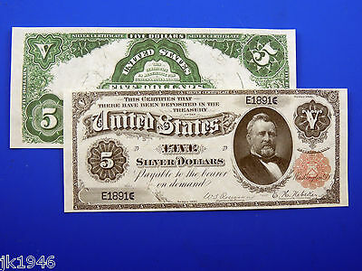 Reproduction $20 1891 Blue Seal Silver Cert US Paper Money Currency Copy