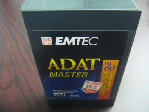 EMTEC PRO 60 MINUTE ADAT MASTER 16 BIT BRAND NEW