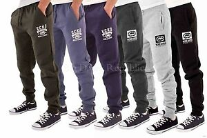 Ecko-Men-039-s-Designer-Fleece-Jog-Pants-Jogging-Bottoms-Sweat-Tracksuit-Gym