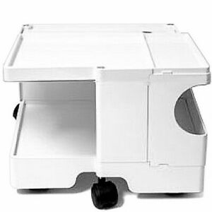 B-LINE-BOBY-10-Rollcontainer-Joe-Colombo-Kunststoff-weiss-sofort-NEU-OVP