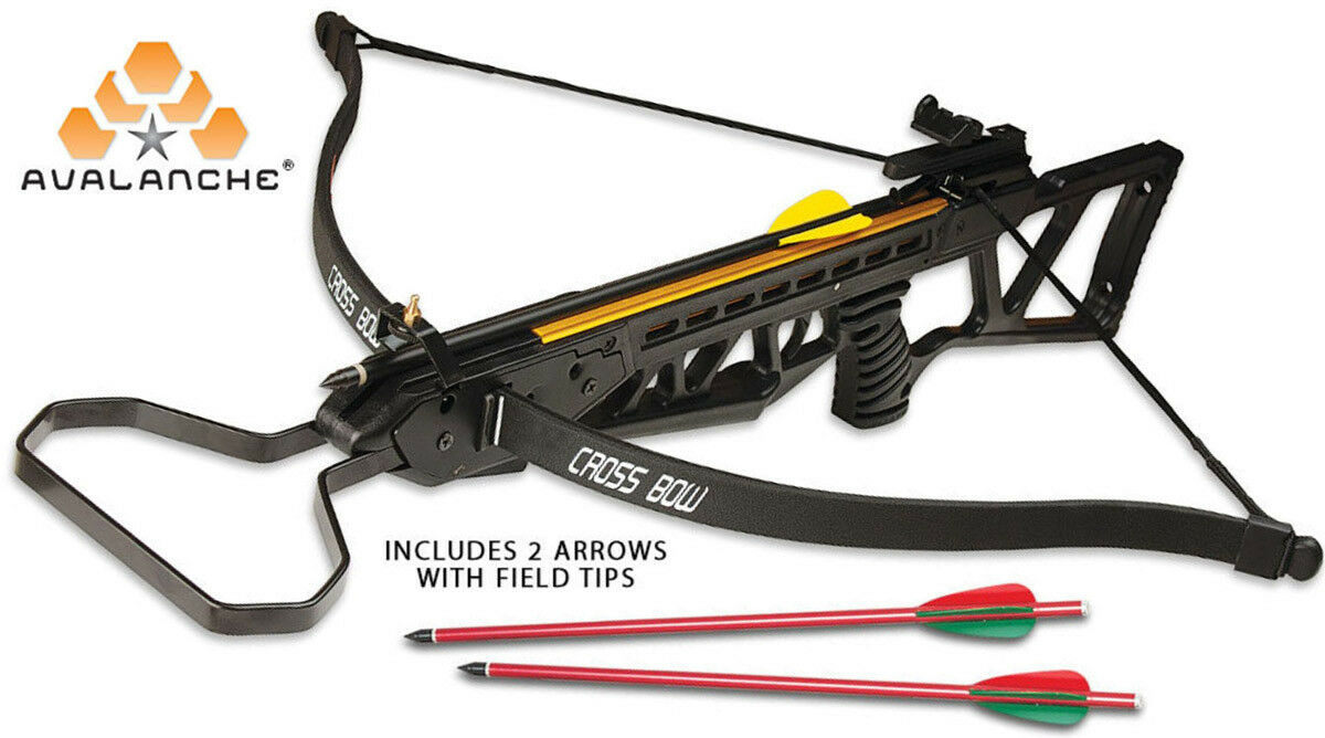 120 LB RIFLE  GUN  CROSSBOW Avalanche Hunting Crossbow 2 ARROWS INCLUDED