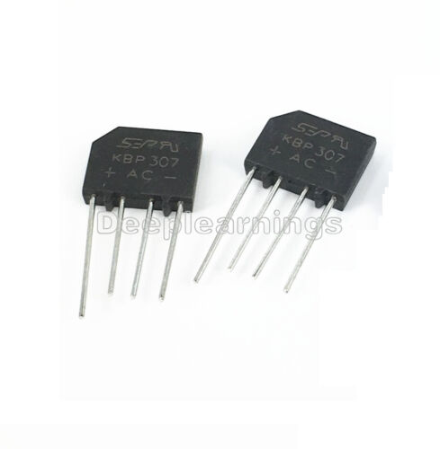 10pcs KBP307 Rectifier Flat bridge Bridge Rectifier 3A//700V new