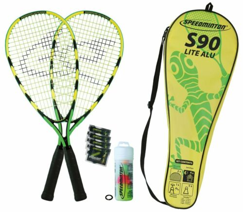 Speedminton Badmintonschläger Set S90 in Fulllcover