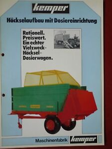 Kemper Miststreuer Häckselaufbaufür Standard & Europa Serie - Lübeck, Deutschland - Kemper Miststreuer Häckselaufbaufür Standard & Europa Serie - Lübeck, Deutschland