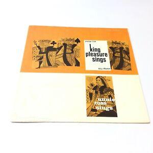 King-Pleasure-Sings-Annie-Ross-Sings-Jazz-Vinyl-LP-EX-EX-A-Super-Clean-Copy