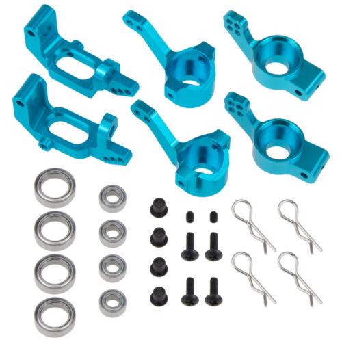 Alloy Steering Hub Mount RC 1//10 02013 02014 02015 Model Car Upgrade Parts
