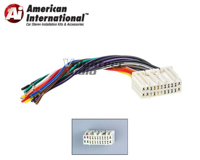 American International Car OEM Radio Wiring Harness CWH637 on