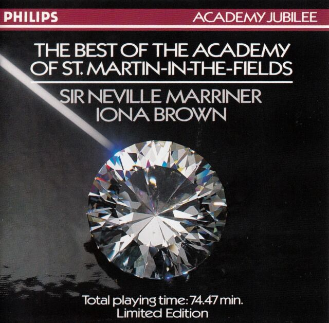 "THE BEST OF ""THE ACADEMY OF ST. MARTIN-IN-THE-FIELD"" / CD (LTD EDITION)"