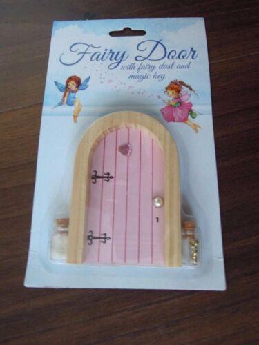 Elf Fairy Door Dust  Key Wall Sticker Tea Party Pixie Elf Faerie Tooth Gift
