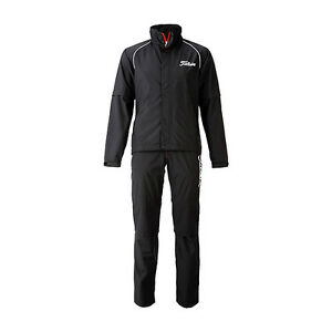 Titleist-JAPAN-Golf-Stratch-Rain-Wear-Jacket-Pants-set-Black-New-TSMR1592