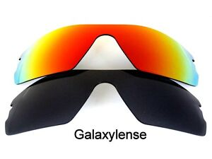 f1fb5fc377 Galaxy Replacement Lenses for Oakley Radar Path Black Red Polarized ...