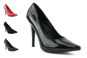 Para-Mujer-Para-Hombre-Alta-el-talon-stiletto-fetiche-salir-Sexy-Zapatos-Tenis-Gran-Tamano-9-12