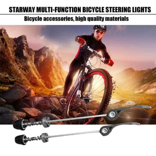 2Pcs Mountain Bike Wheel Skewer Quick Release Lever Clip Bolt Axle Bicycle Shaft