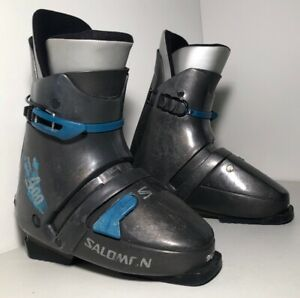 Salomon-400-Rear-Entry-Ski-Boots-Size-L355-28-5-Men-s-10-5us-Gray-332mm