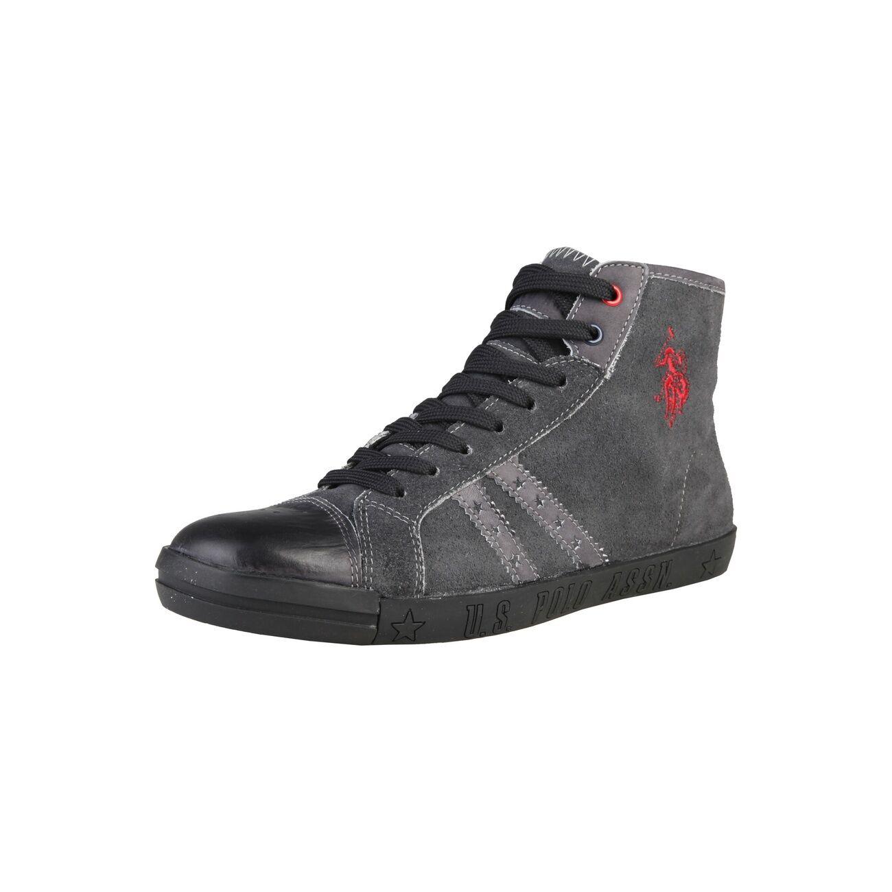 Billig Qualität hohe Qualität Billig U.S. POLO ASSN,Herren,Men,Schuhe,Schuhes,Sneaker,NEU,Dunkel Blau,Blau,Navy,Leder, 4b4e78